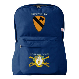 1ST SQUADRON 7TH CAVALRY 1ST CAVALRY BACKPACK