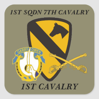 1ST SQUADRON 7TH CAVALRY 1ST CAVALRY STICKERS