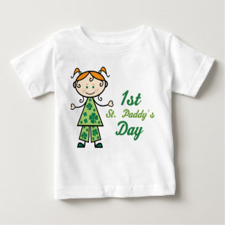 1st St Paddys Day Infant Shamrock Tee