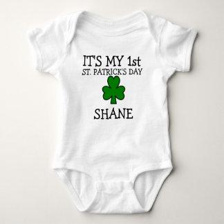 1st st patricks day personalized st patricks day baby bodysuit