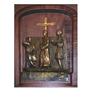 1st Station of the Cross Postcard