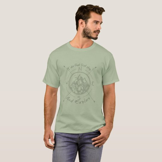 1st step explore T-Shirt