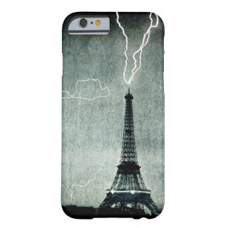 1st Strike - Lightning hits Eiffel Tower 1902 Barely There iPhone 6 Case