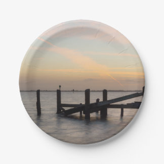 1st Sunset 2017 Cocoa Beach 7 Inch Paper Plate