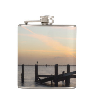 1st Sunset 2017 Cocoa Beach Hip Flask
