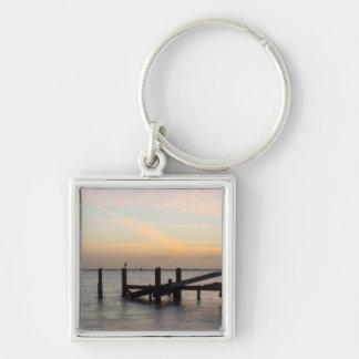 1st Sunset 2017 Cocoa Beach Keychain