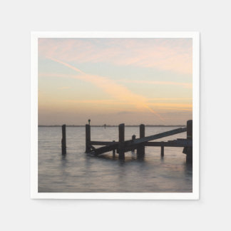 1st Sunset 2017 Cocoa Beach Paper Napkins