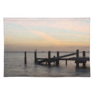 1st Sunset 2017 Cocoa Beach Place Mat