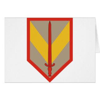 1st Sustainment Brigade Card
