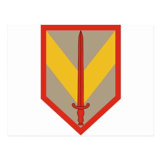 1st Sustainment Brigade Postcard