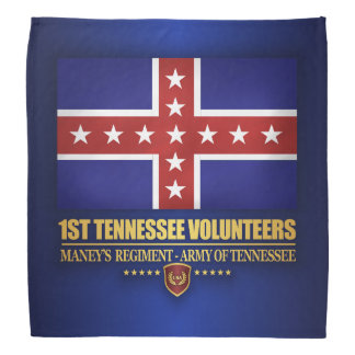 1st Tennessee Infantry (F10) Bandana