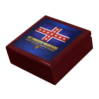 1st Tennessee Infantry (F10) Jewelry Boxes