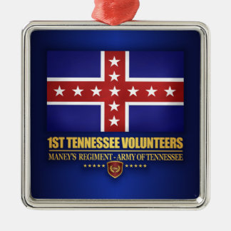 1st Tennessee Infantry (F10) Metal Ornament