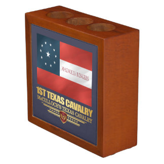 1st Texas Cavalry Desk Organizer