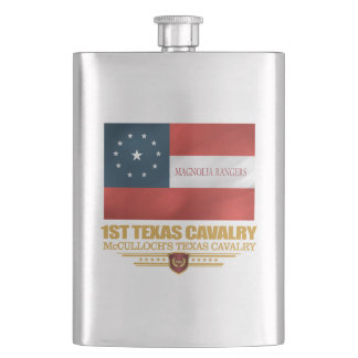 1st Texas Cavalry Hip Flask