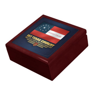 1st Texas Cavalry Jewelry Box