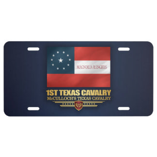 1st Texas Cavalry License Plate