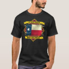 1st Texas Infantry (Flags 3) T-Shirt