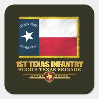 1st Texas Infantry (v10) Square Sticker