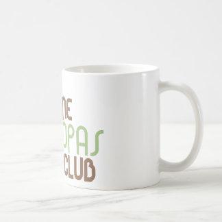 1st Time Grandpas Club (Green) Basic White Mug