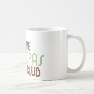 1st Time Grandpas Club (Green) Classic White Coffee Mug