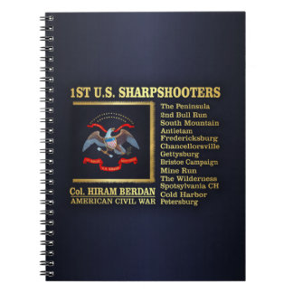 1st US Sharpshooters (BH) Notebook