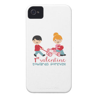 1st Valentines Day Together iPhone 4 Covers