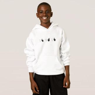 1V1 - Now Dance Scrub! gamers hoodie in white