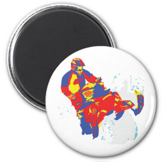 1wARHOL-sLEDS-2 2 Inch Round Magnet