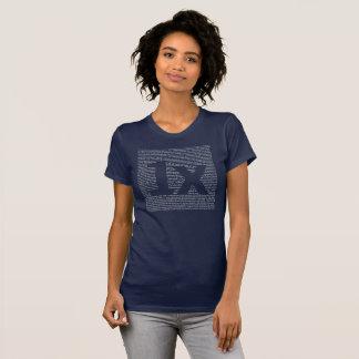 "1x ""drush"" women's tea, dark blue T-Shirt"