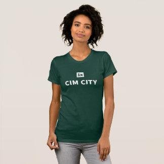 """1x Women's tea """"Cim town center """" T-Shirt"""