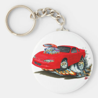 2000-05 Monte Carlo Red Car Keychain