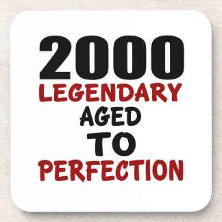 2000 LEGENDARY AGED TO PERFECTION COASTERS