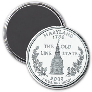2000 Maryland State Quarter magnet