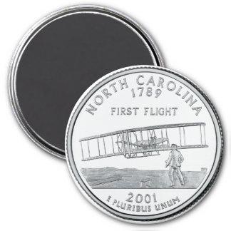 2001 North Carolina State Quarter magnet