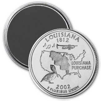 2002 Louisiana State Quarter magnet