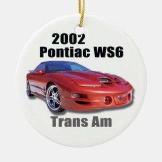 2002 TRANS AM CERAMIC ORNAMENT