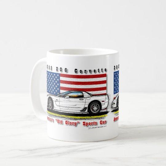 2002 Z06 Corvette Coffee Mug