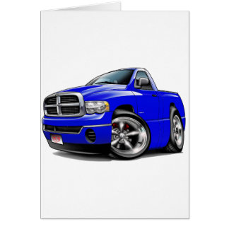 2003-08 Dodge Ram Blue Truck Card