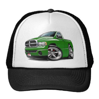 2003-08 Dodge Ram Green Truck Trucker Hat