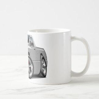 2003-08 Dodge Ram Silver Truck Classic White Coffee Mug