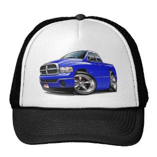 2003-08 Ram Quad Blue Truck Trucker Hat