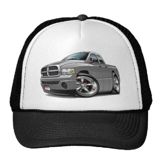 2003-08 Ram Quad Grey Truck Trucker Hat