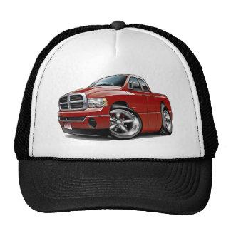 2003-08 Ram Quad Maroon Truck Trucker Hat