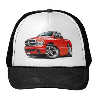 2003-08 Ram Quad Red Truck Trucker Hat
