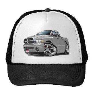 2003-08 Ram Quad Silver Truck Trucker Hat