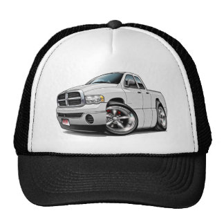 2003-08 Ram Quad White Truck Trucker Hat