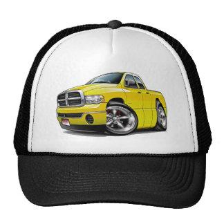 2003-08 Ram Quad Yellow Truck Trucker Hat