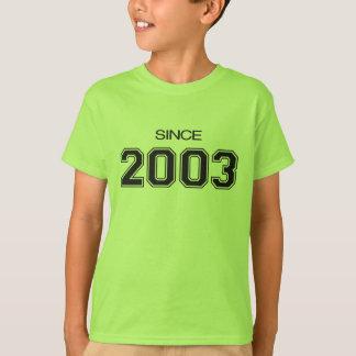 2003 birthday gift idea T-Shirt