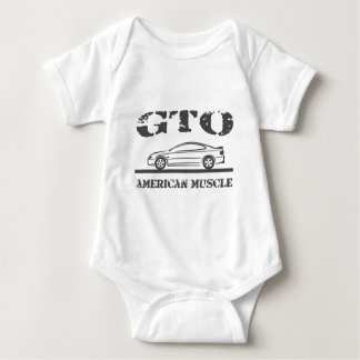 2004-06 GTO American Muscle Car Baby Bodysuit